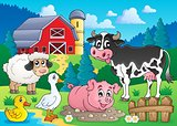 Farm animals theme image 3