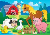 Farm animals theme image 5