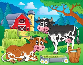 Farm animals theme image 8