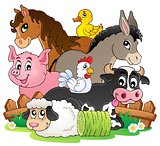 Farm animals topic image 2