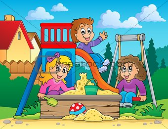 Image with playground theme 2