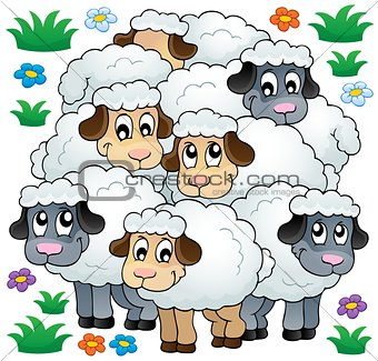 Sheep theme image 3