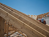 construction of a roof