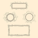 Set of Four Frames