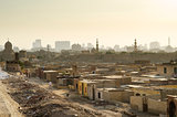 city of the dead slum in cairo egypt