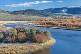 North Platte River in Colorado