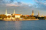 Riga Castle and Daugava river