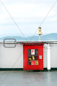 Bridge Fire Hose Box