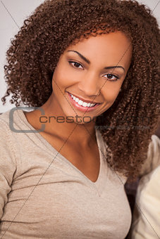 Beautiful Mixed Race African American Girl