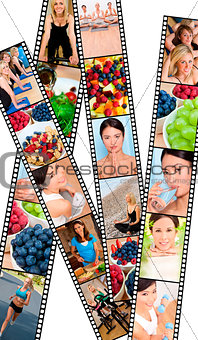 Montage Healthy Women Female Lifestyle & Eating