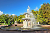 St. Petersburg, Peterhof. Roman fountains