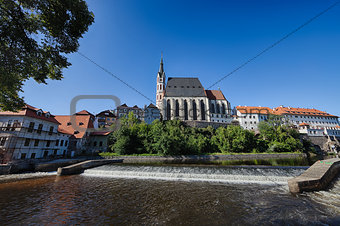 Cesky Krumlov the  St. Vitus Church