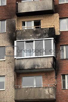 after a fire