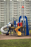 Playground rocket