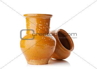old jug and pot