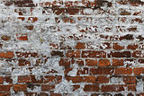 old fortress brick wall