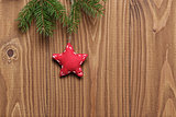 vintage christmas decorative star hanging