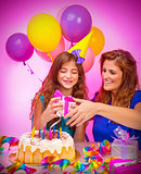 Birthday party of daughter