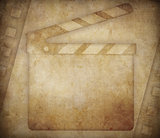 Cinema grunge background