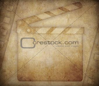 Cinema grunge background
