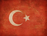 Old Turkey flag