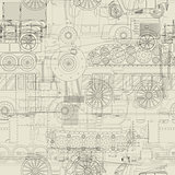 Seamless pattern vehicles design