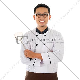 Portrait of Asian chef