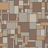 Seamless vector pattern of linoleum in vintage colors