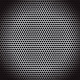 Abstract dotted black metal background