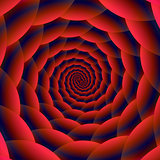 Red and Blue Spiral