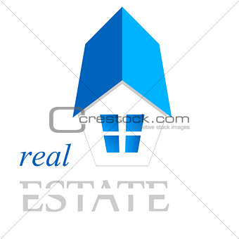house, real estate sign