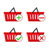 Shopping Basket with Icons