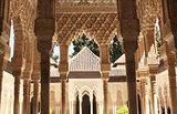 Columns in Alhambra
