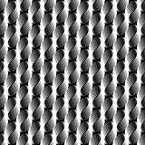 Seamless texture in op art design.