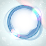 Modern Blue Circle Glowing Effects