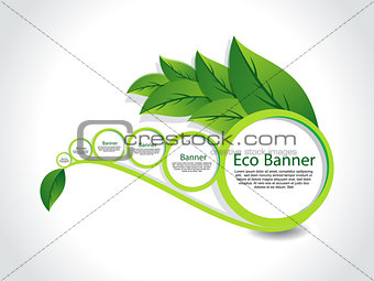 abstract Eco Banner Set