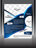 Blue Wave Flyer Design