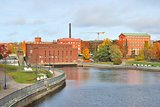 Finland. Tampere in autumn