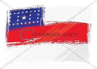 Grunge Amazonas flag