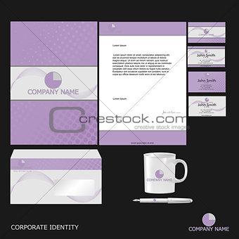 Corporate Identity Template in Vector