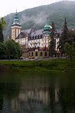 The Palace Hotel in the Bukk mountains at Lillafured, Miskolc, H