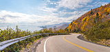Panorama of Cabot Trail Highway