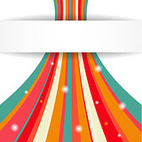 Stripe background. Vector illustration for your business presentations.
