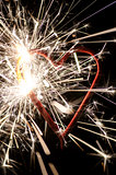 Heart shaped firework
