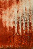 Red paint texture on wall grunge