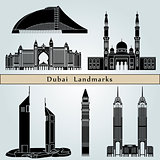 Dubai landmarks and monuments