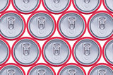 Pattern drink cans