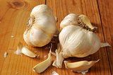 Fresh garlic cloves