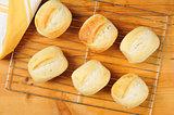 Fresh baked rolls