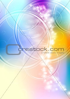 Colourful abstract art vector background
